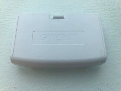 New Arctic White Battery Cover Game Boy Advance - GBA Replacement Door