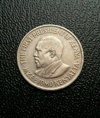 Kenya 1974 50 cents coin. World coin collectable