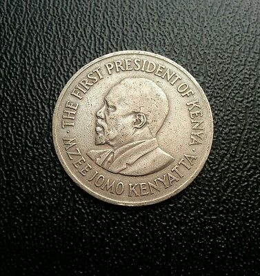 Kenya 1969 1 one shilling coin. World coin collectable