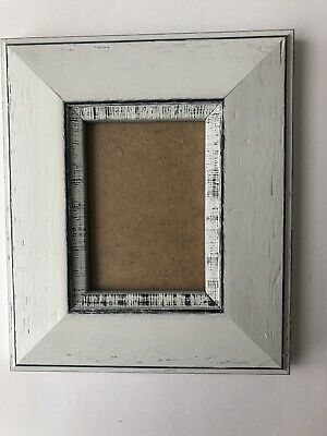 NEW Quality wooden ACEO Art card 3.5 x 2.5 gray picture frame