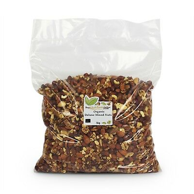 Organic Deluxe Mixed Nuts 5kg | Buy Whole Foods Online | Free UK P&P