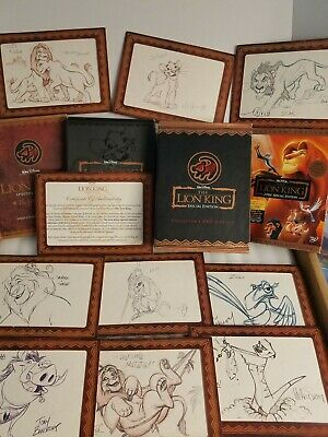 Disney's The Lion King Special Edition Collector's DVD Gift Set- Limited Supply