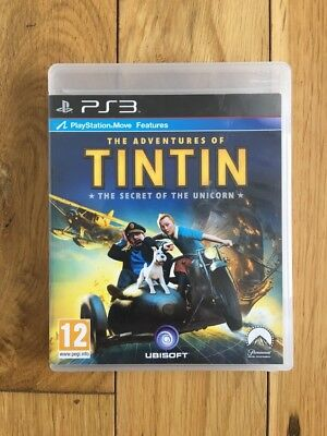The Adventures of TinTin: The Secret of the Unicorn (Sony PlayStation 3, 2011) -