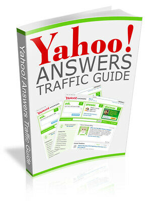 Yahoo Answers Traffic Guide - Master Resell Rights 7 bonus ebooks Free Shipping