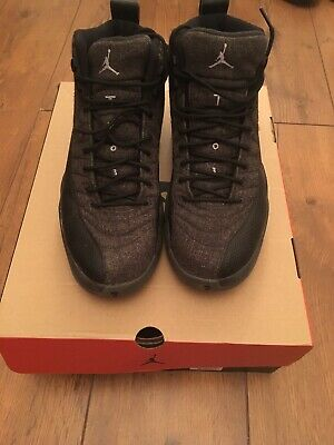 7862f318165d56 Mens Nike Air Jordan Retro 4 Black Oreo Size UK 11 US 12.