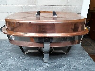 Copper And Stainless steel Large Chafing Dish