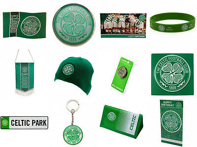 Celtic FC Official Football Club Birthday Xmas Souvenir Gifts. New.