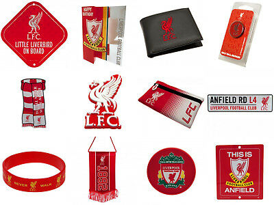 Liverpool FC Official Football Club Birthday Souvenir Gifts. New.