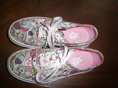 760ee6a4ae Toddler Girls Vans Donut Unicorn Size 1 Authentic Off The Wall Shoes  Sneakers