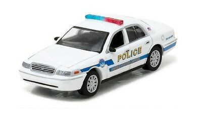2010 Ford Crown Victoria Police Seattle Washington GreenLight Hot Pursuit 1:64