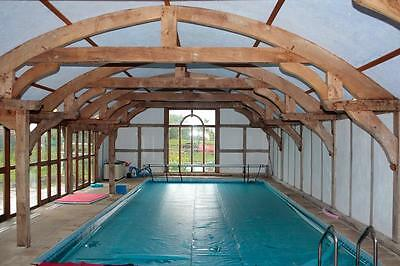 self catering holiday cottage wirral swimming pool hot tub summer holiday 2019