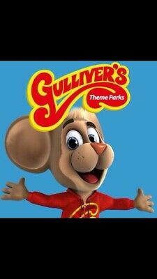 Gullivers Theme Parks £50 Family Entry