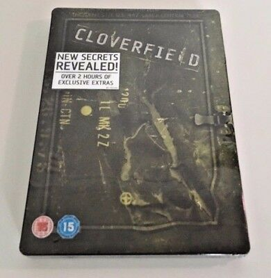Cloverfield Steelbook  2-Disc DVD   (J.J. Abrams) Limited Edition NEW Sealed