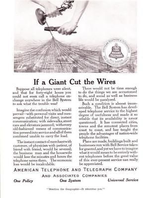 1915 Vintage ad  Early American Telephone and Telegraph Company