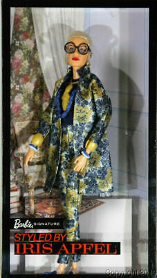 Barbie Signature: Styled By Iris Apfel Doll Barbie Doll Collect  Fun OPEN BOX