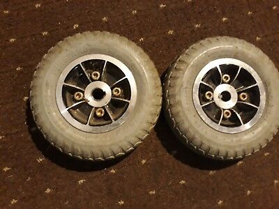 Wispa Mobility Scooter Rear Wheels And Tyres 200 X 50