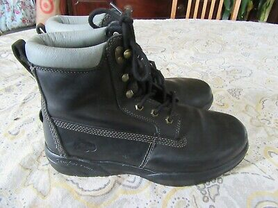 f01694fbae7 DR. COMFORT - Boss, Men's Diabetic Leather Work Boots, Shoes, 11.5 ...