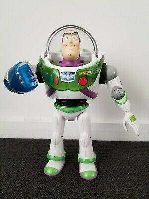 Genuine Buzz Lightyear Talking Light Up Large 30cm Action Figure Toy