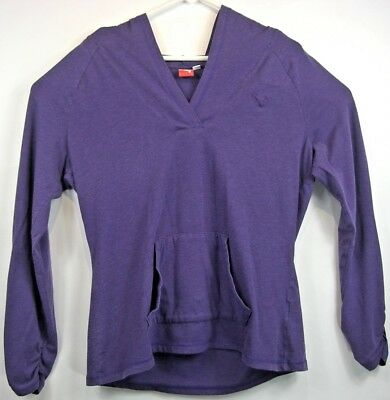Puma Sport Lifestyle Women's Purple Pullover Hoodie Long Sleeve Size XL