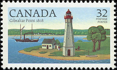 Canada Scott 1035 Gibraltar Point, ON 1808 VF MNH OG (17720)
