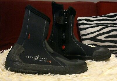 Responsible Aqua Lung Mens 5mm Superzip Ergo Boots Sporting Goods Water Sports