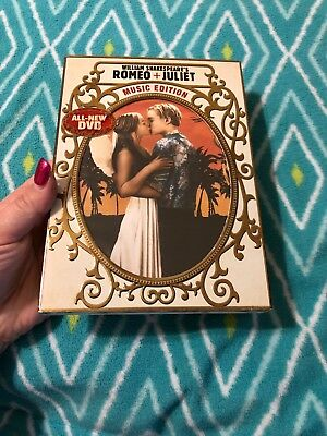 ROMEO AND JULIET Music Edition - DVD Region 1 Free Shipping