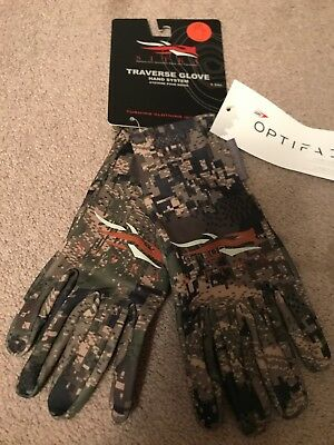 Sitka Traverse Gloves Optifade Ground Forest Camo 90029-GF- Large