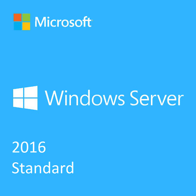 MS Windows Server 2016 Standard 64-BIT Genuine License Key