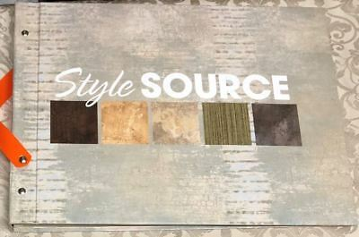 Style Source Wallpaper Sample Book Scrapbooking Paper Crafts Card Making