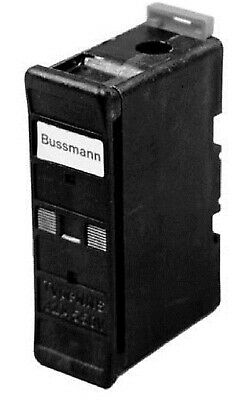 2x Bussmann NSD TYPE FUSE HOLDERS 1-Pole 32A Black- Front Wire Or Back Wire