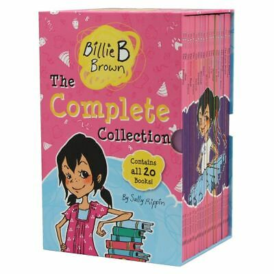 New Billie B Brown The Complete Collection 20 Books Box Set By Sally Rippin