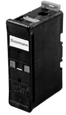Bussmann ESD TYPE FUSE HOLDER 1-Pole 63A Front Wire/Back Stud, Black