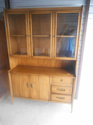 Gorgeous Mid-Century Modern 1960's Drexel Meridian Danish China Hutch