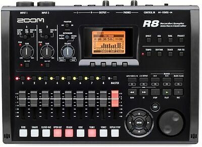 Zoom R8 8 Track Digital Multi Recorder USB Audio Interface Controller Sampler