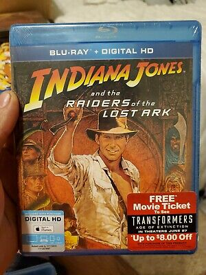 Indiana Jones and the Raiders of the Lost Ark [New Blu-ray] + Digital Itunes HD