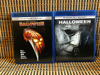 Halloween 1978/2018 (2-Disc Blu-ray, 2019)John Carpenter/Jamie Lee Curtis