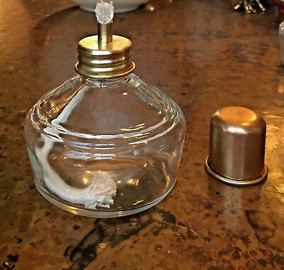 Alcohol Lamp / Burner Flint Glass 120 MlL (3 available)