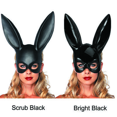 Long Ears Rabbit Bunny Mask Bondage Party Costume Cosplay Halloween Masquerade