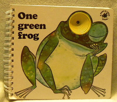 One Green Frog (Poke and Look) by Yvonne Hooker, Board Book, 1996
