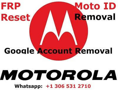 FRP/Google Account Bypass Removal Remote Moto G,G4,Z,Droid,X,Turbo,E4, More FAST