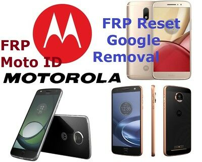 FAST Remote FRP/Google Account Bypass Removal Moto G,G4,Z,Droid,X,Turbo,E4, More