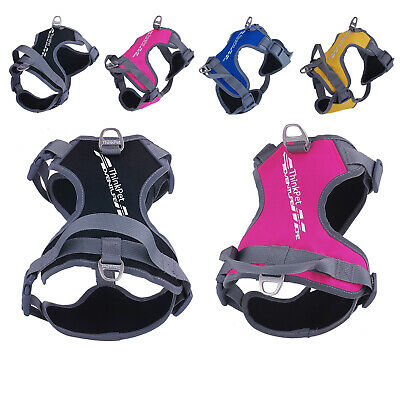 Reflective Dog Harness Vest Adjustable Collar Padded Puppy Chest Harness No Pull