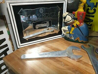 Vintage Rolls Royce  Genuine Spanners Aircraft/Car/Commercial Rare Collector