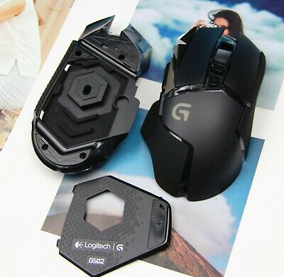2d13098226e New Replacement Logitech G502 Mouse's Case Top Shell+Bottom Case +Weights  Cover