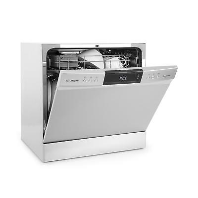Dishwasher Kitchen Cutlery Tabletop  Energy A+ 8 Programmes LED Display Silver