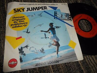 """Adidas Spot Tv Bso Ost Janny Logan Sky Jumper/something You Hide 7"""" 1983 France"""