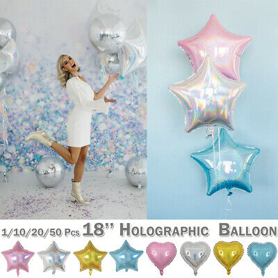 Foil Star Helium Balloons Latex Baloons Wedding Party Birthday Decor Quality