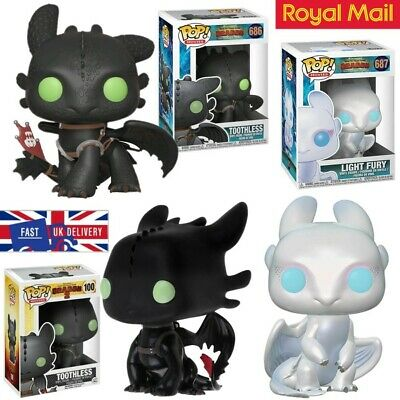 UK Funko Pop How to Train Your Dragon 3 Toothless Vinyl Action Figure Toys Gift