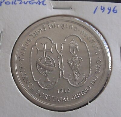 Portugal 200 escudos EU Presidency 1992 Crown Size UNC