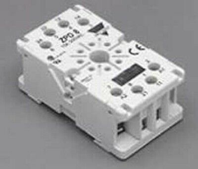 Carlo Gavazzi PLUG-IN BASE 8-Pin For Time Delay Relays, Screw Connection